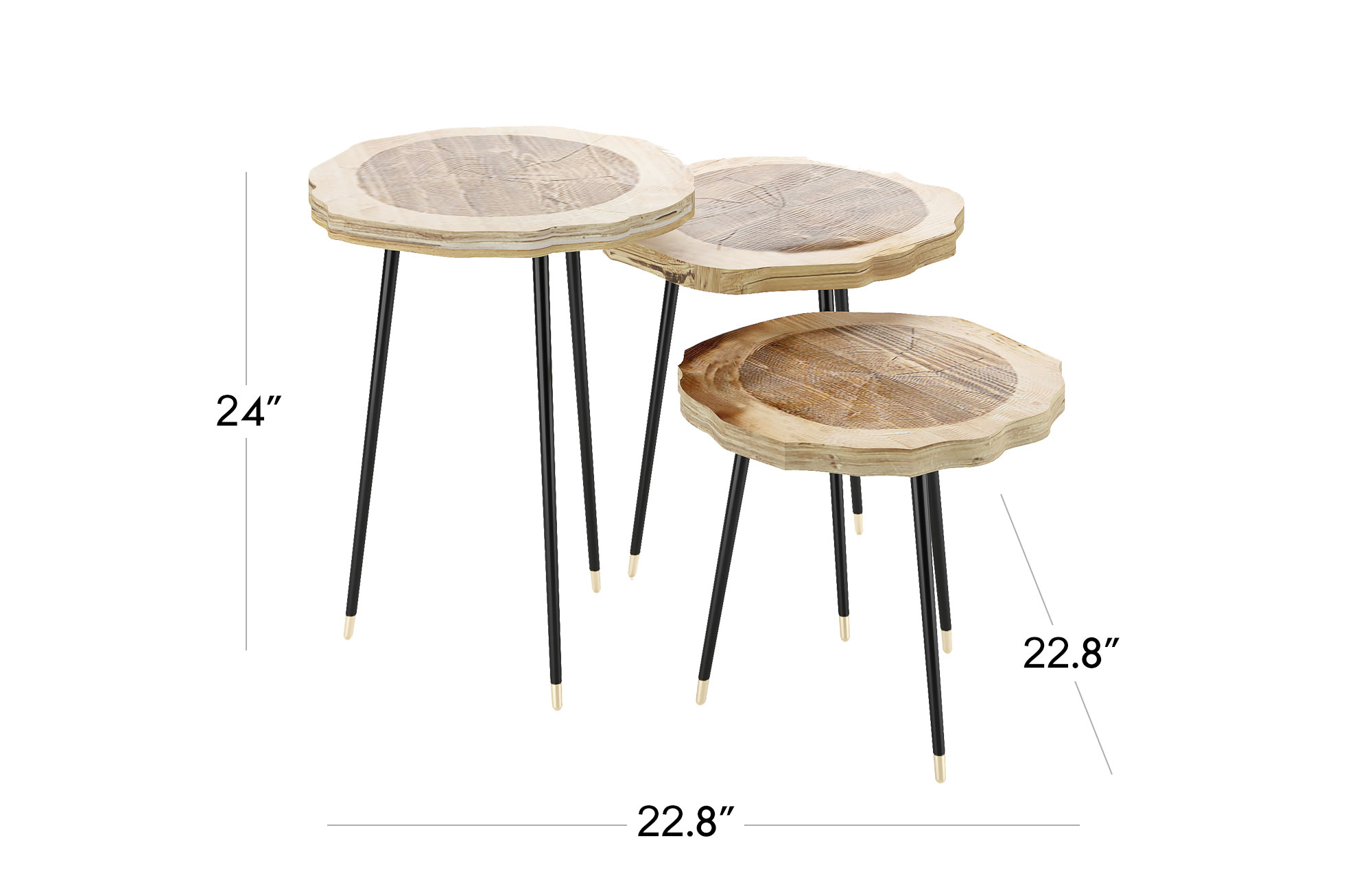 Gisella Side Table Set