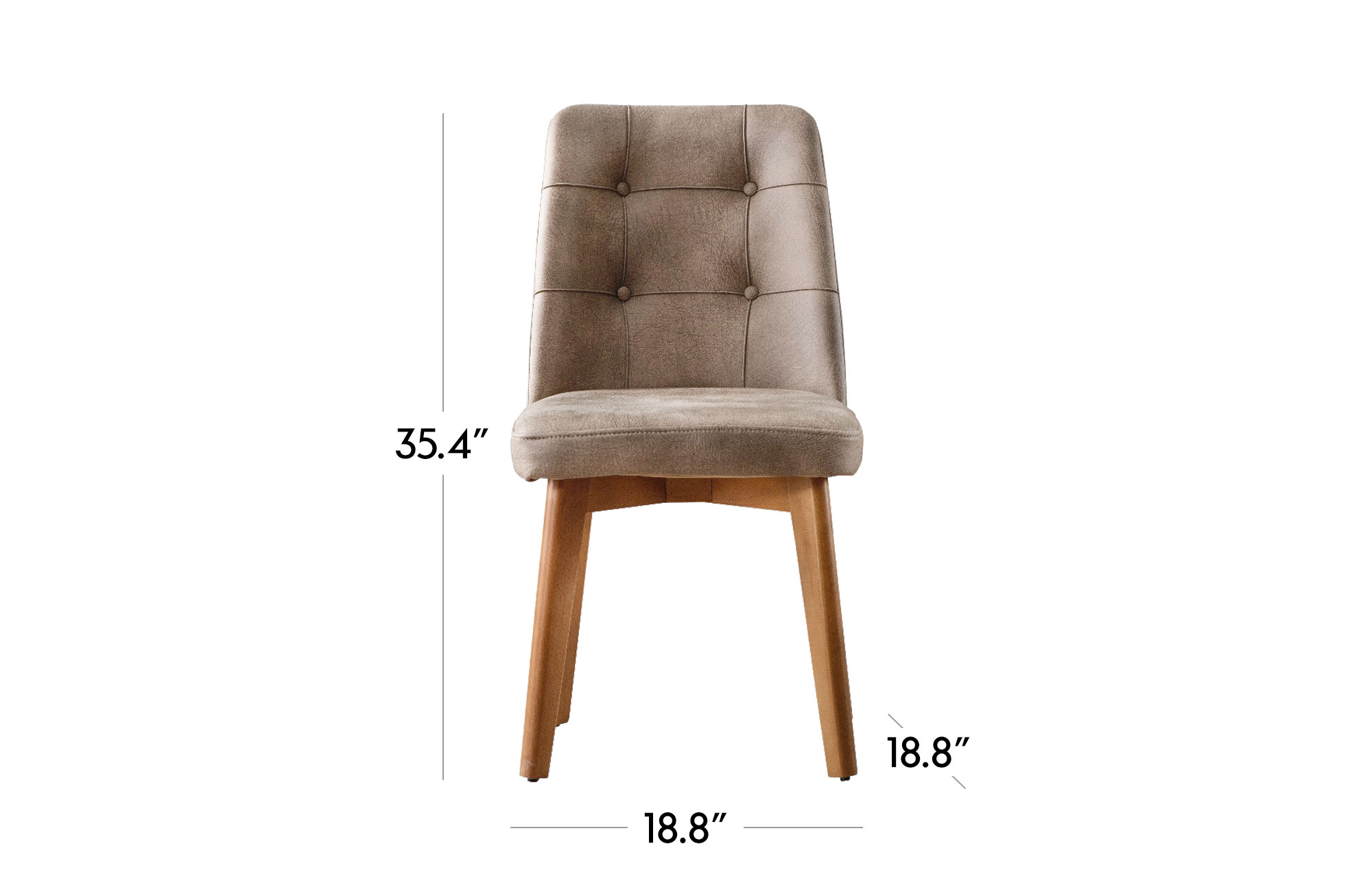 Enzo Dining Chair - Set of 2