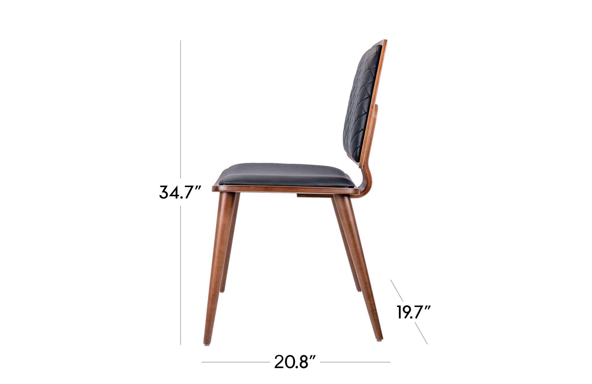 Vesuvio Dining Chair - Set of 2