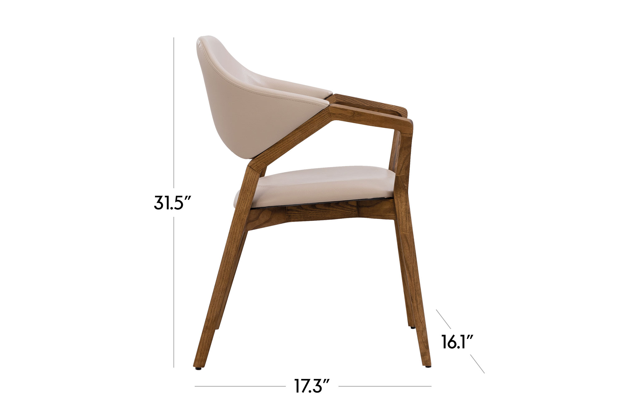 Lilla Dining Chair - Set of 2