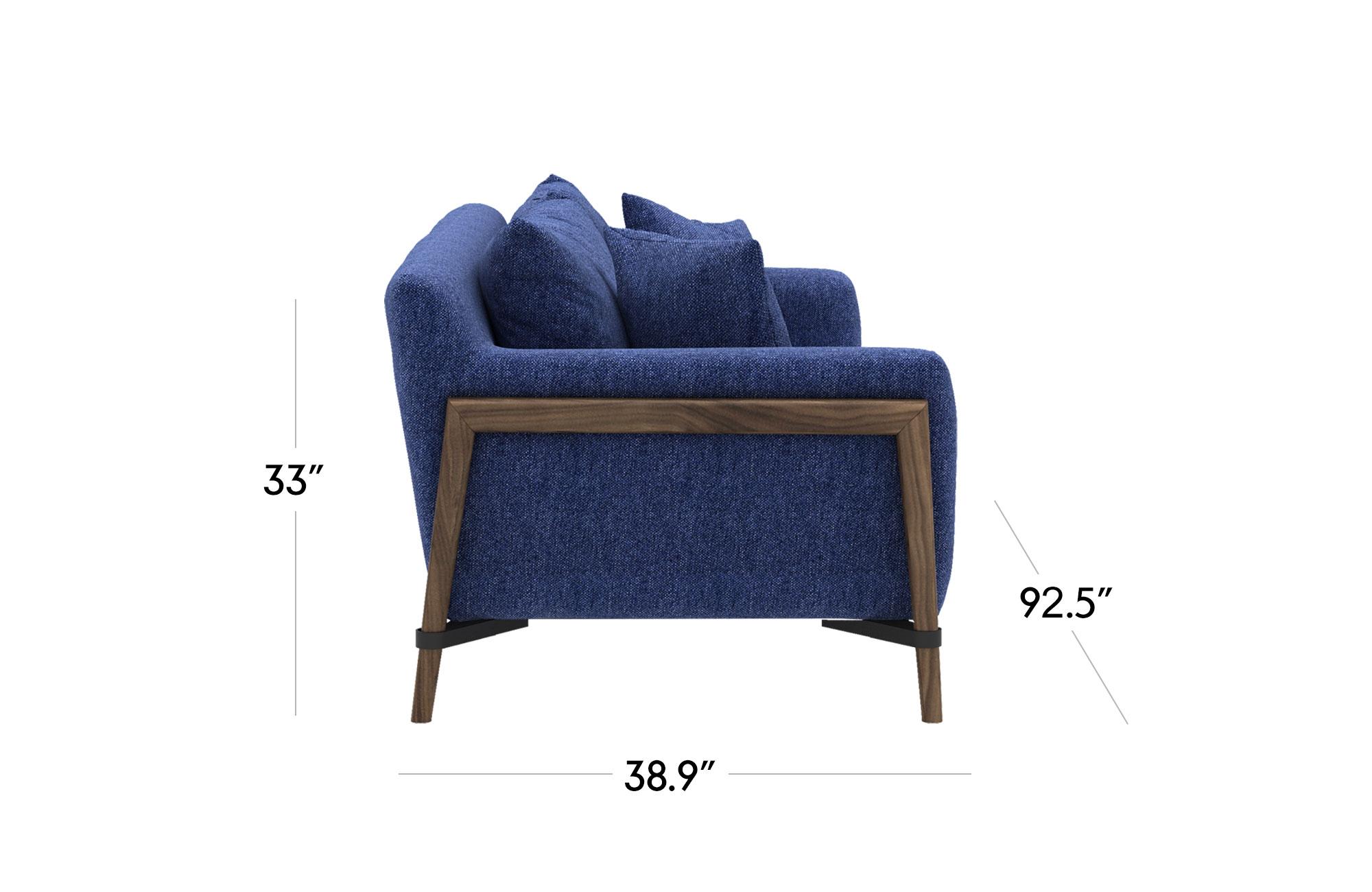 Venezia Sofa- Blue