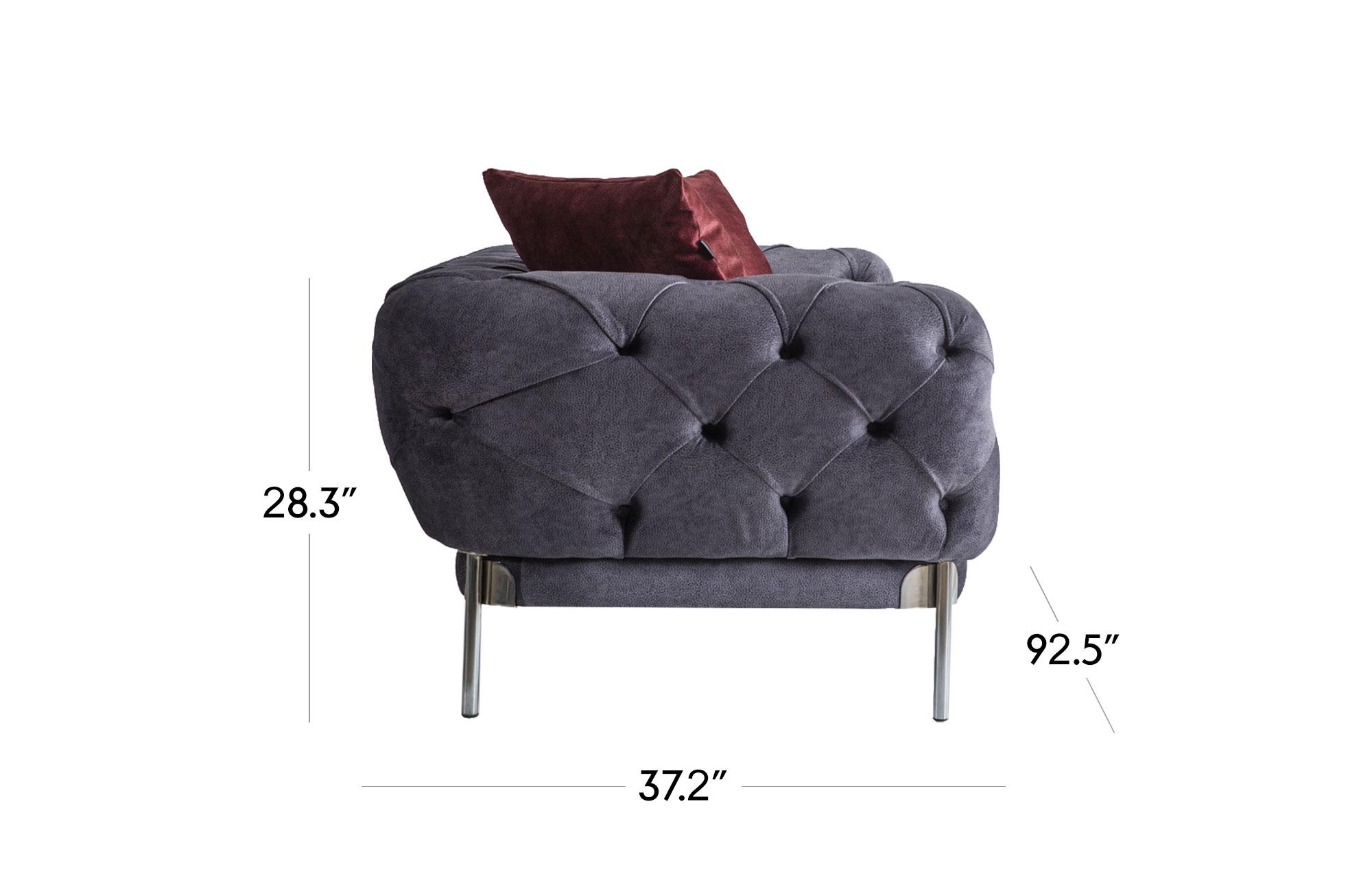 Ambra Sofa- Dark