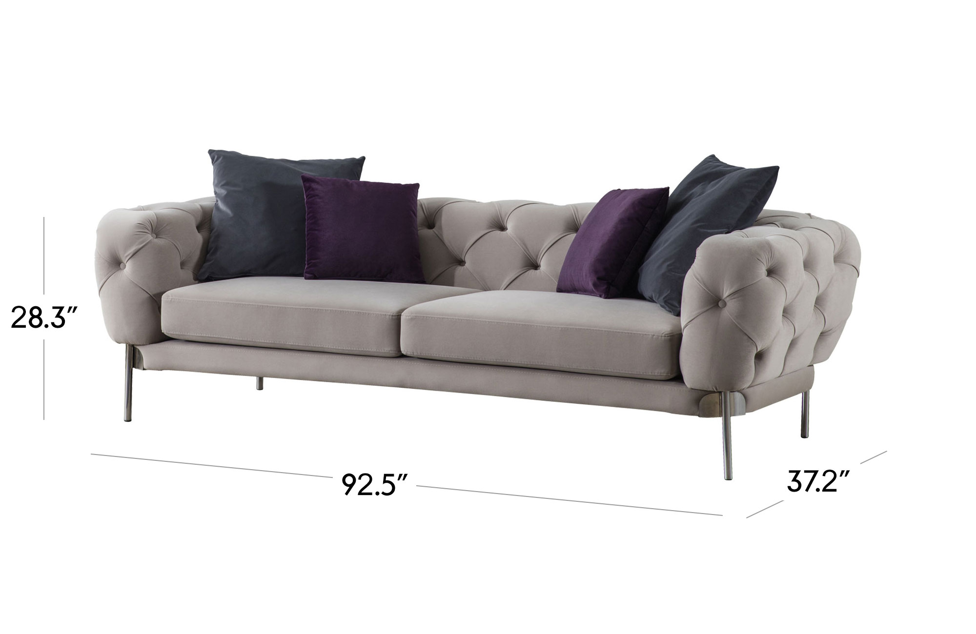 Ambra Sofa - Light