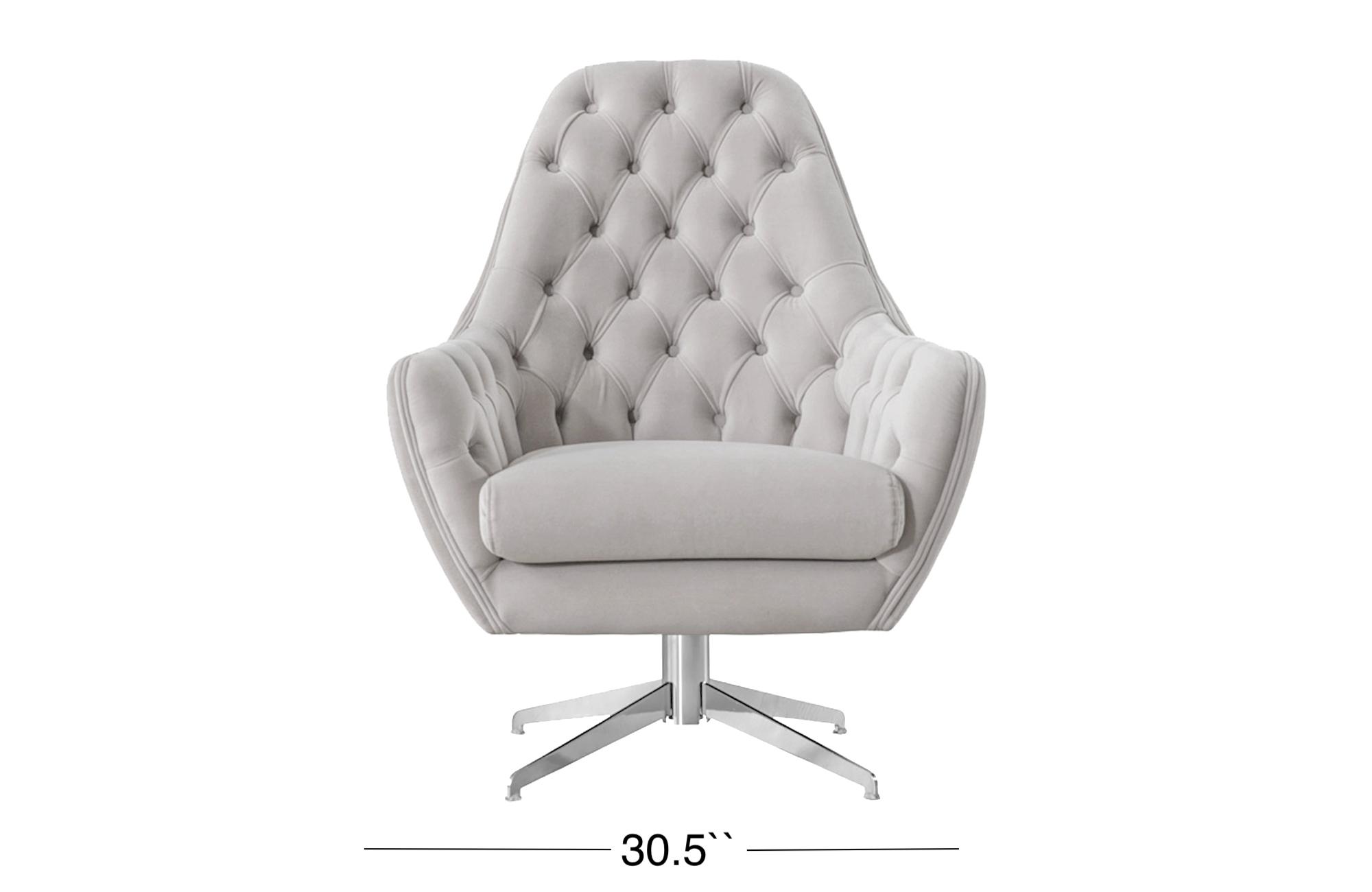 Ambra Lounge Chair - Light