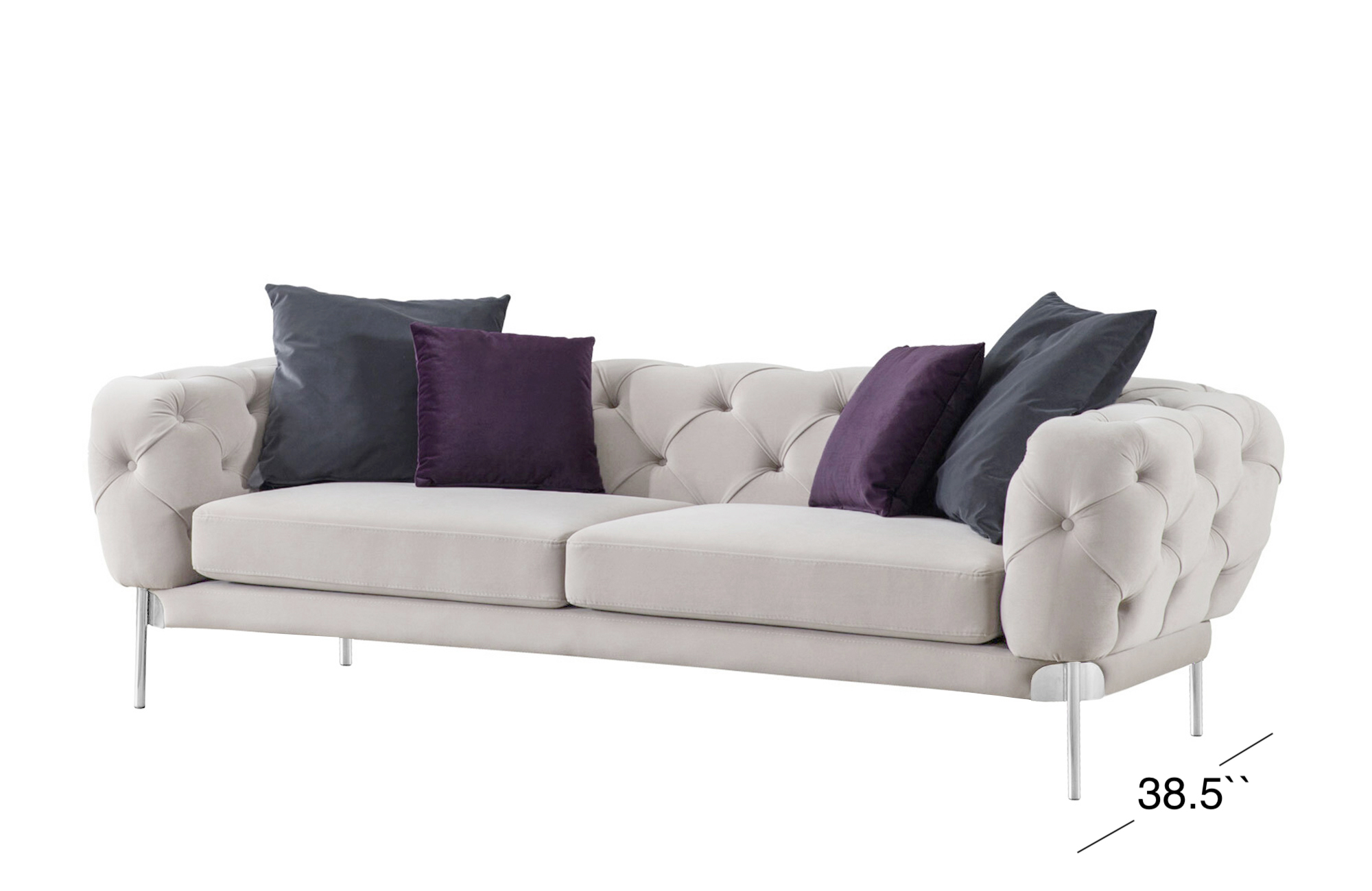 Ambra Sofa - Light