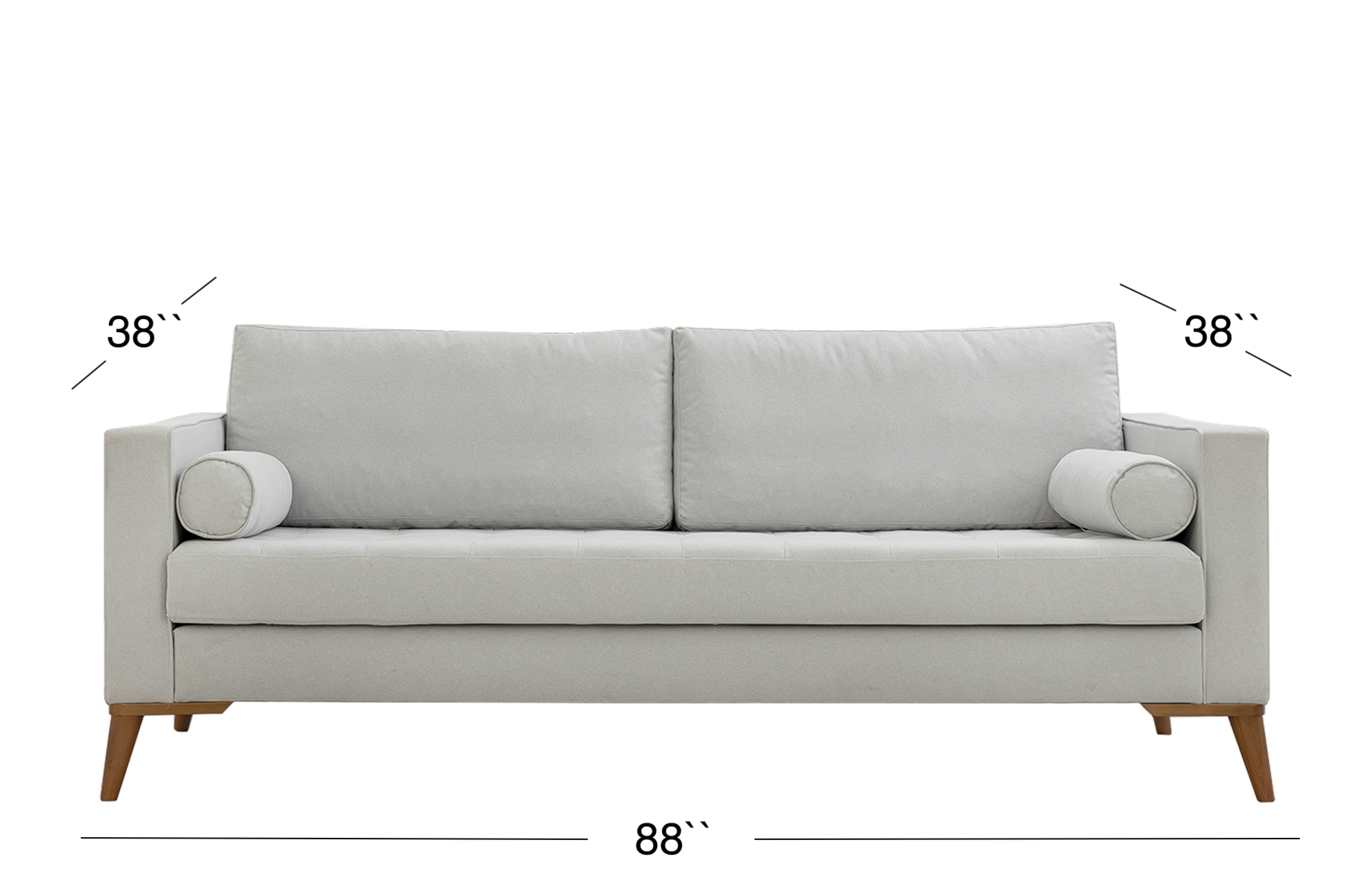 Midtown Sofa - Light Gray