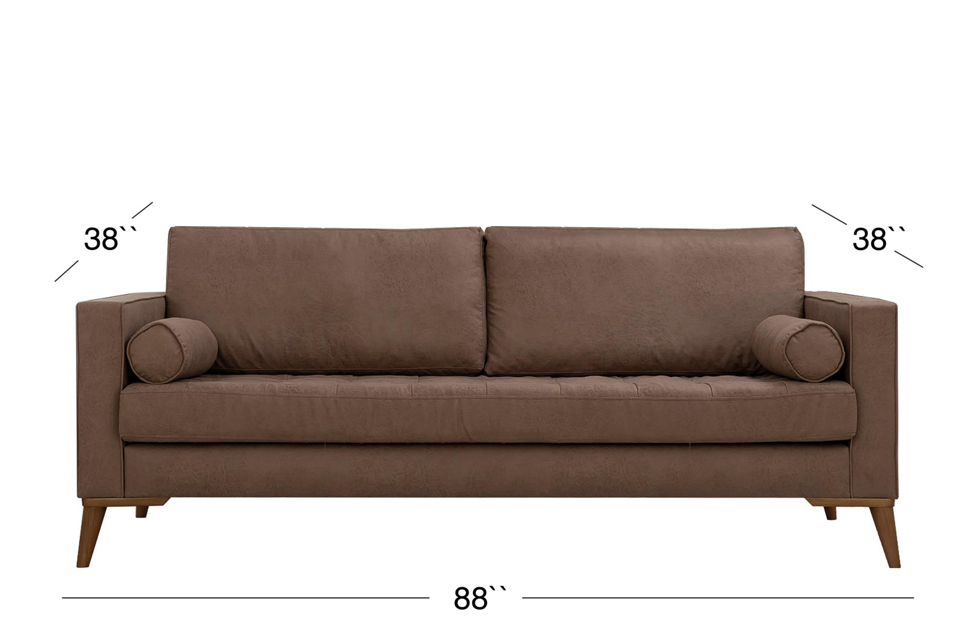 Midtown Sofa - Mocha