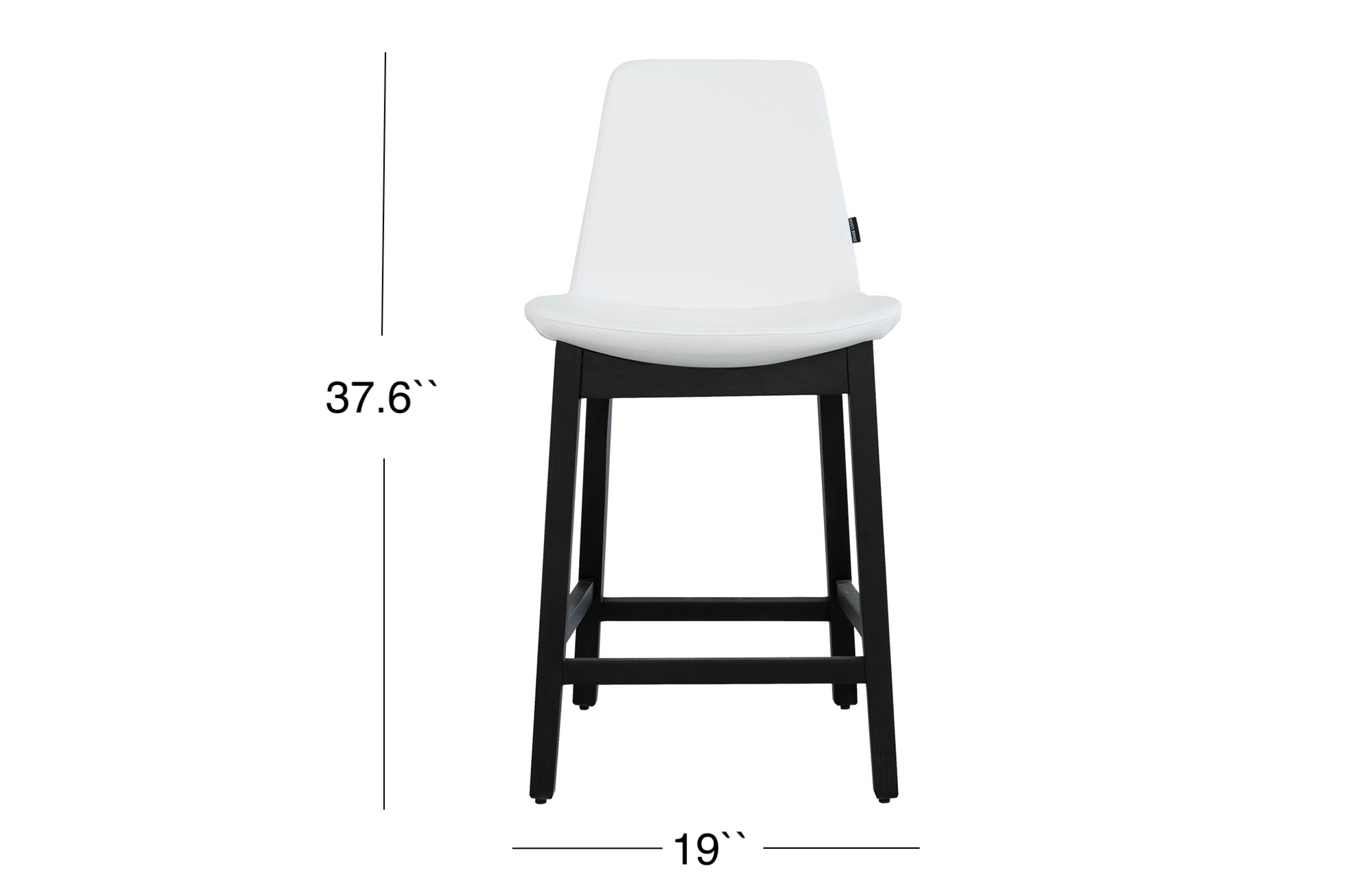 Paolo Counter Stool - Black