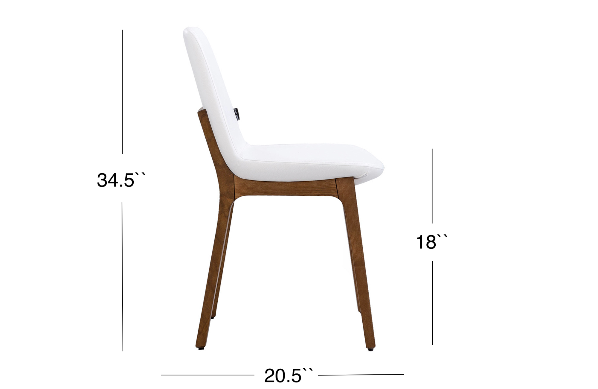 Paolo Dining Chair - Walnut