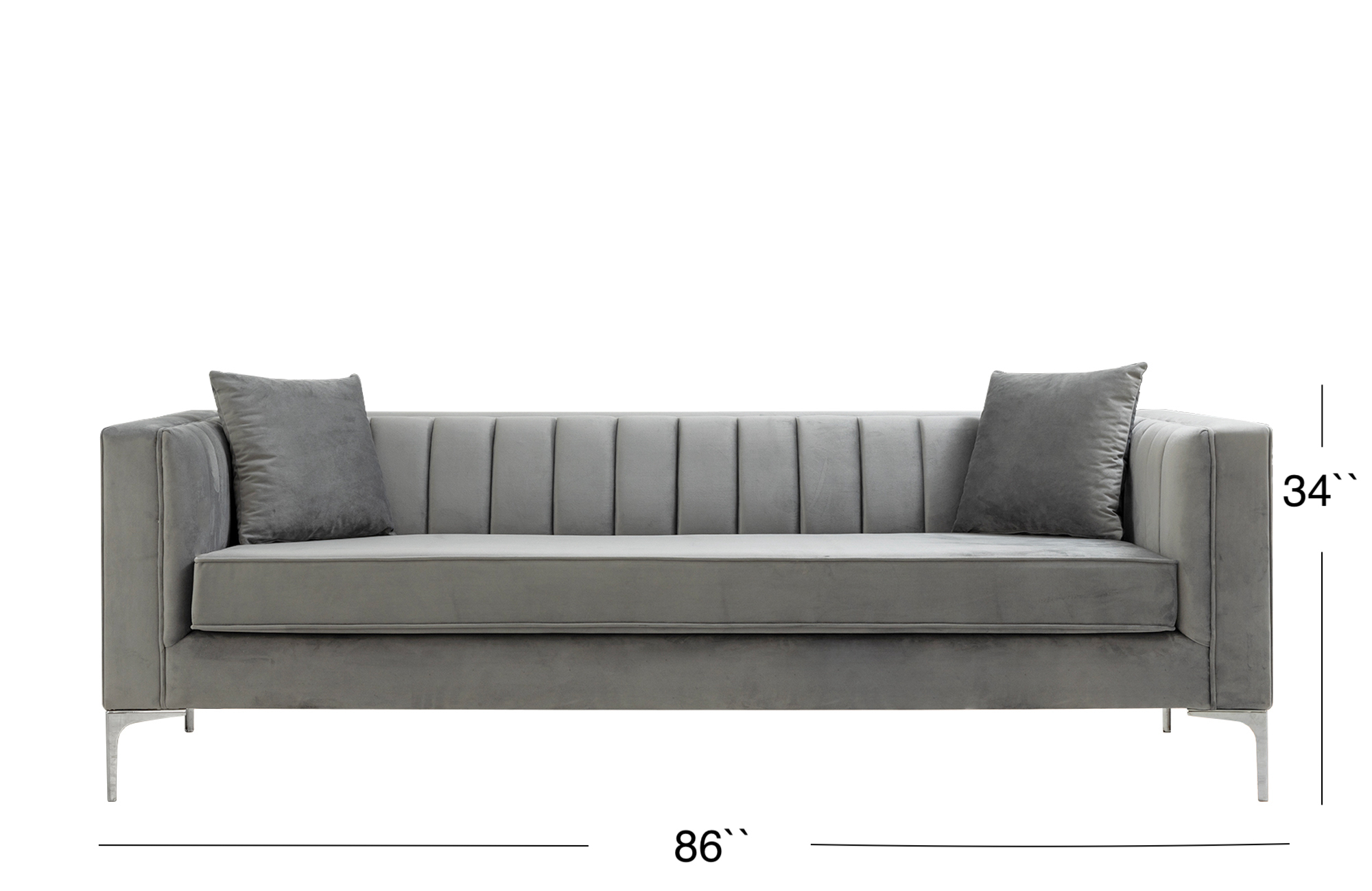 Suna Sofa - Gray
