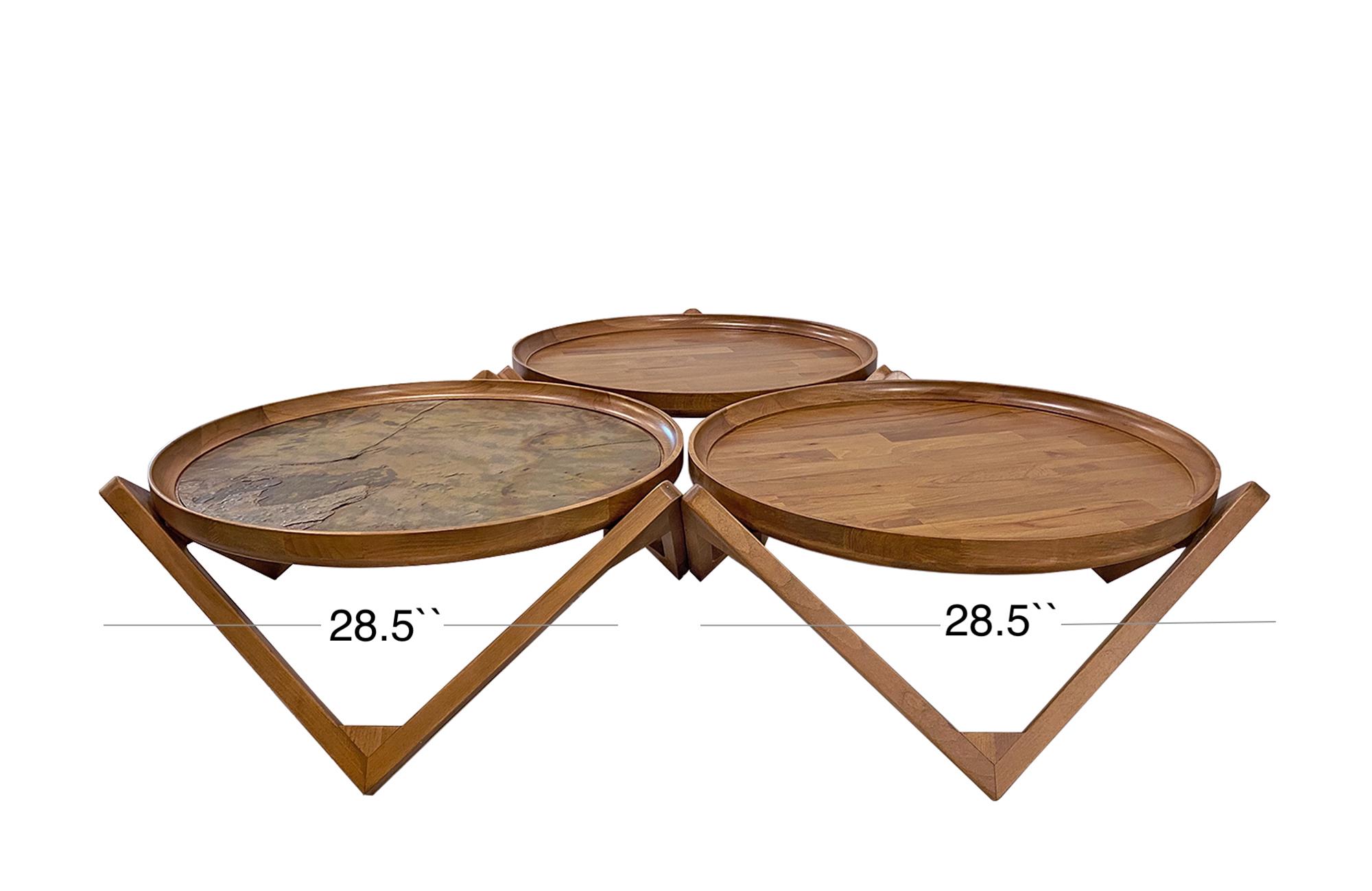 Trio Coffee Table Set