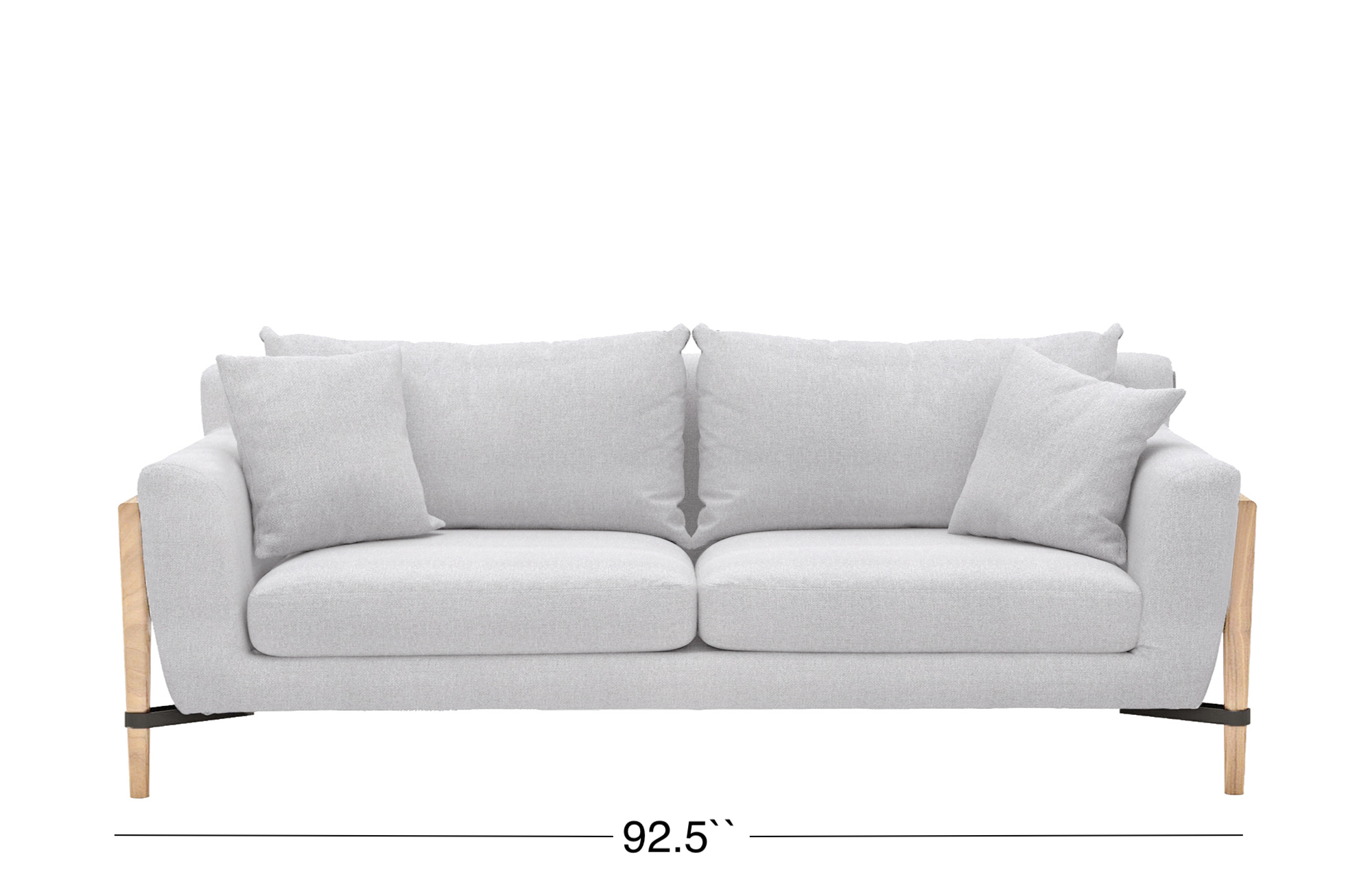 Venezia Sofa - Light Gray