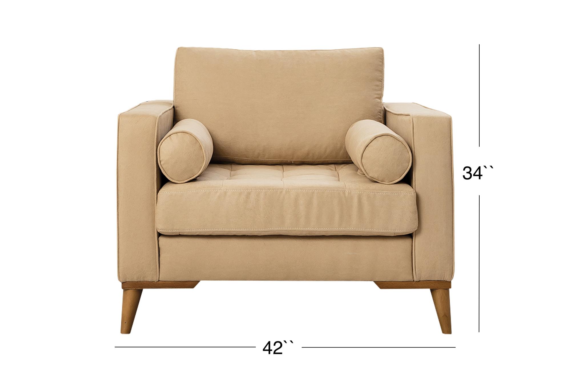 Midtown Lounge Chair - Beige