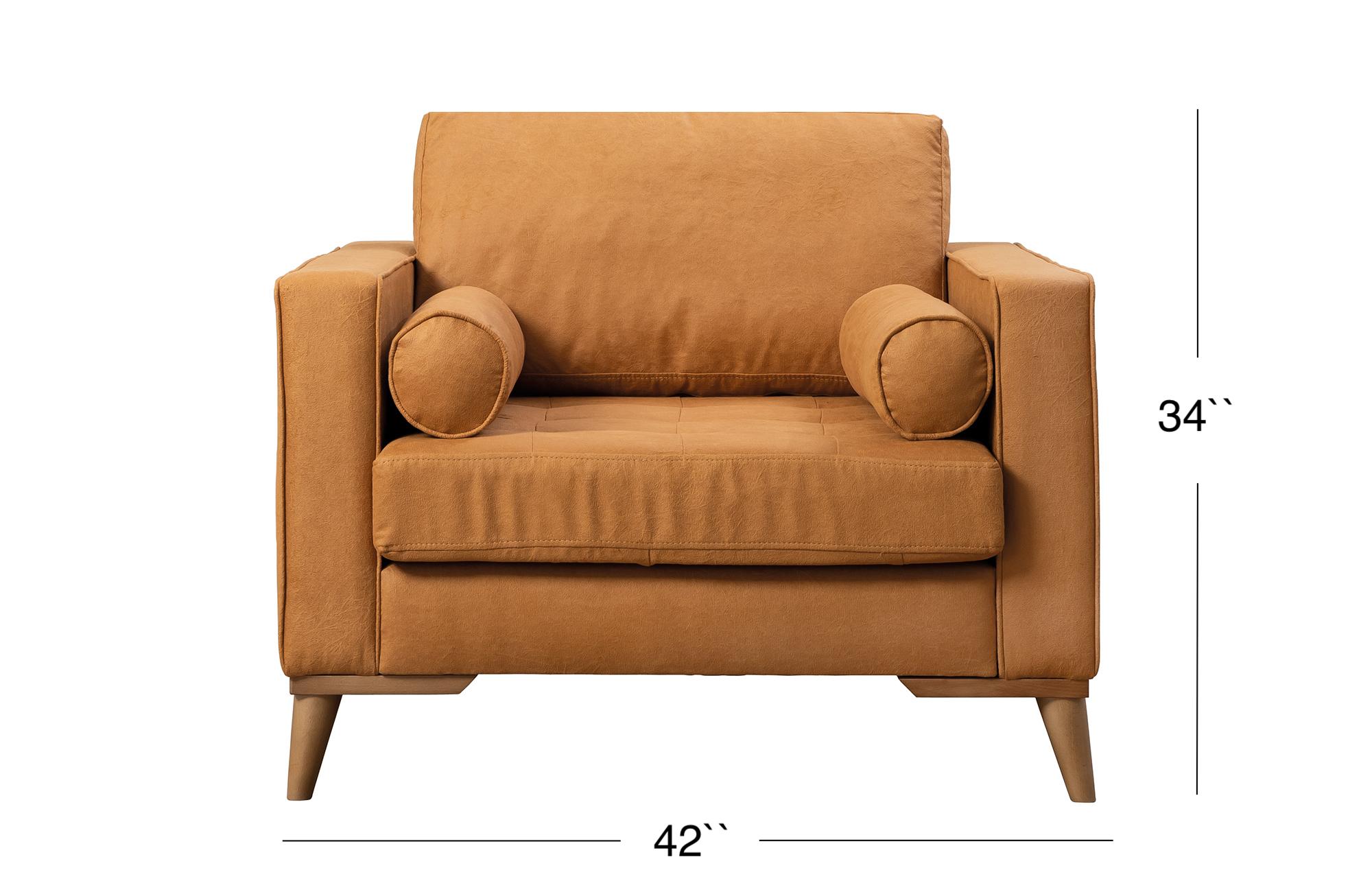Midtown Lounge Chair - Golden