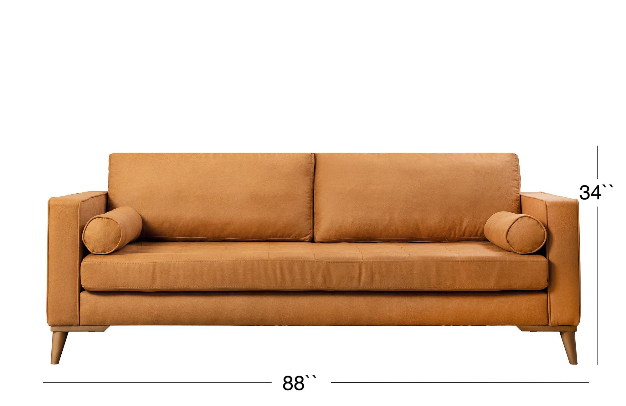 Midtown Sofa - Golden